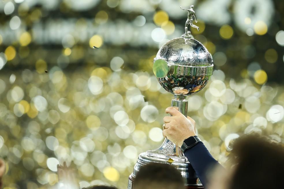 Libertadores tem três clubes do mesmo país nas semifinais pela primeira vez, no atual modelo de disputa — Foto: Staff Images/Conmebol