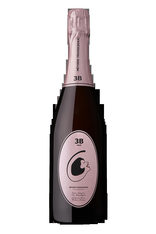 Espumante Rosé 3B Filipa Pato Brut (Foto: divulgação)