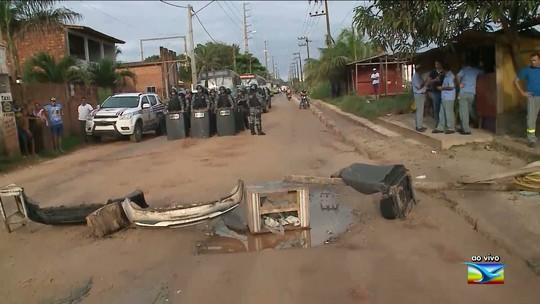 Protesto interdita avenida em São José de Ribamar