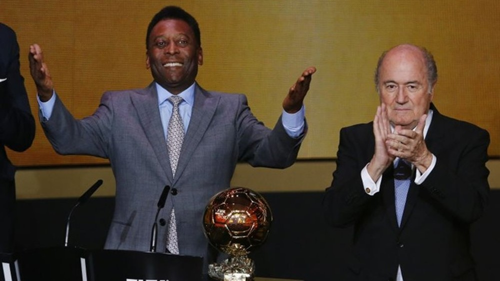 Pelé Blatter Bola de Ouro Quiz