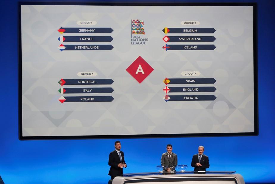 Liga das Nações estreará com grupo da morte: Alemanha, França e Holanda