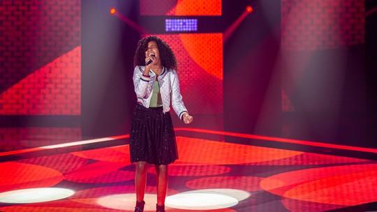 Karen Silva fala sobre a estreia no palco do 'The Voice Kids'