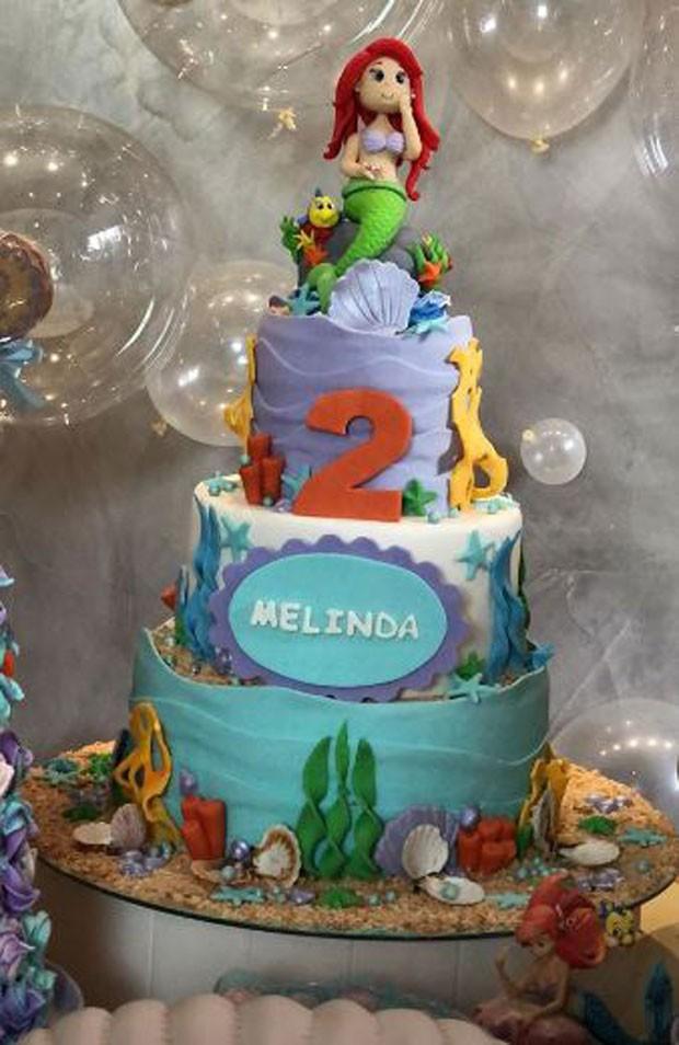 Aniversário de Melinda, filha de Michel Teló e Thaís Fersoza (Foto: Reprodução/Instagram)