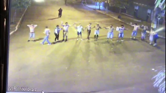 Ladrões fazem clientes de lanchonete como reféns durante roubo a dois bancos em Itambé