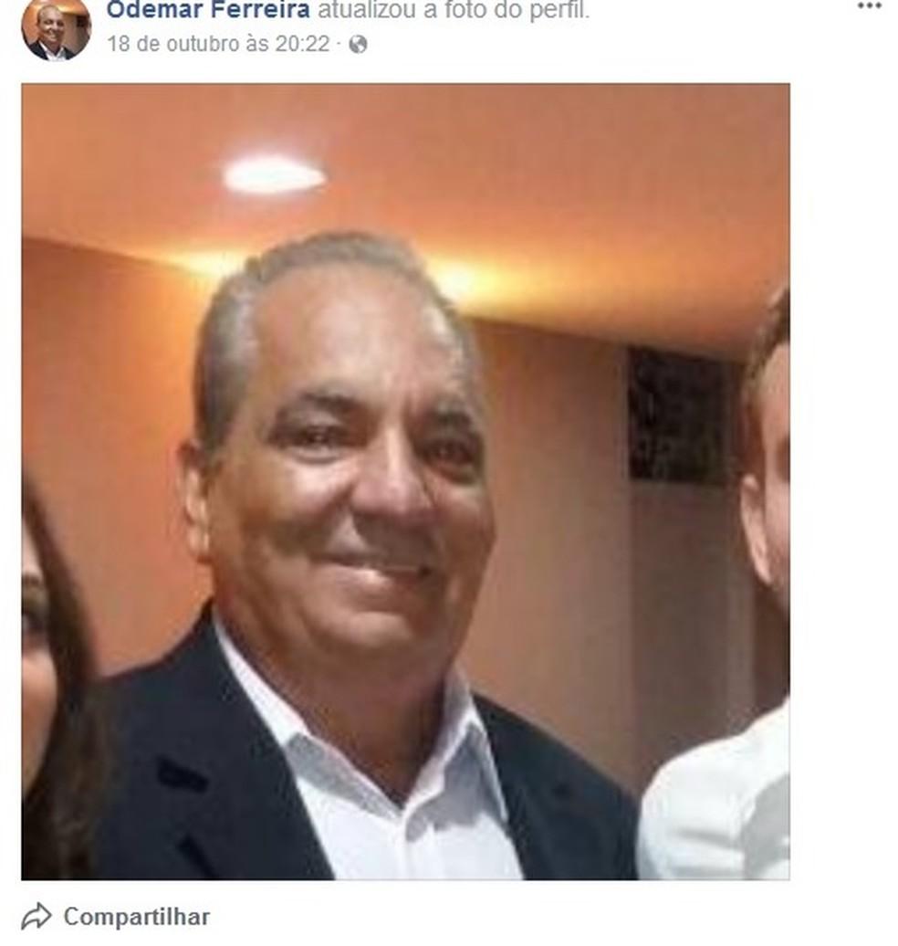 Odemar Ferreira (Foto: Reprodução/Facebook)