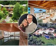 Bill e Melinda Gates: um giro pelas maiores mansões dos bilionários