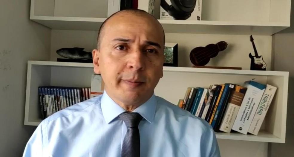 Procurador Mauro é candidato ao Senado pelo PSOL — Foto: Reprodução