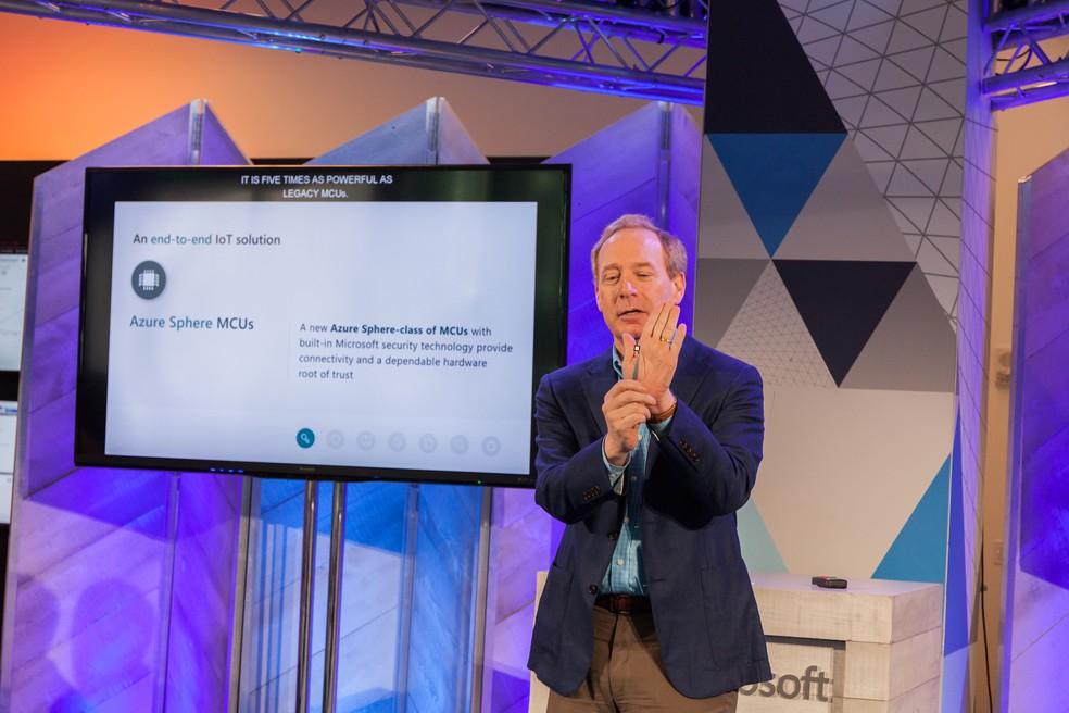 Plataforma Azure Sphere é a nova iniciativa da Microsoft entre dispositivos IoT — Foto: Divulgação/Microsoft
