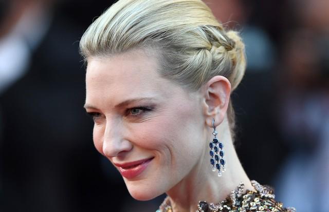 Cate Blanchett de Armani Privé no Festival de Cinema de Cannes 2015. (Foto: Getty Images)