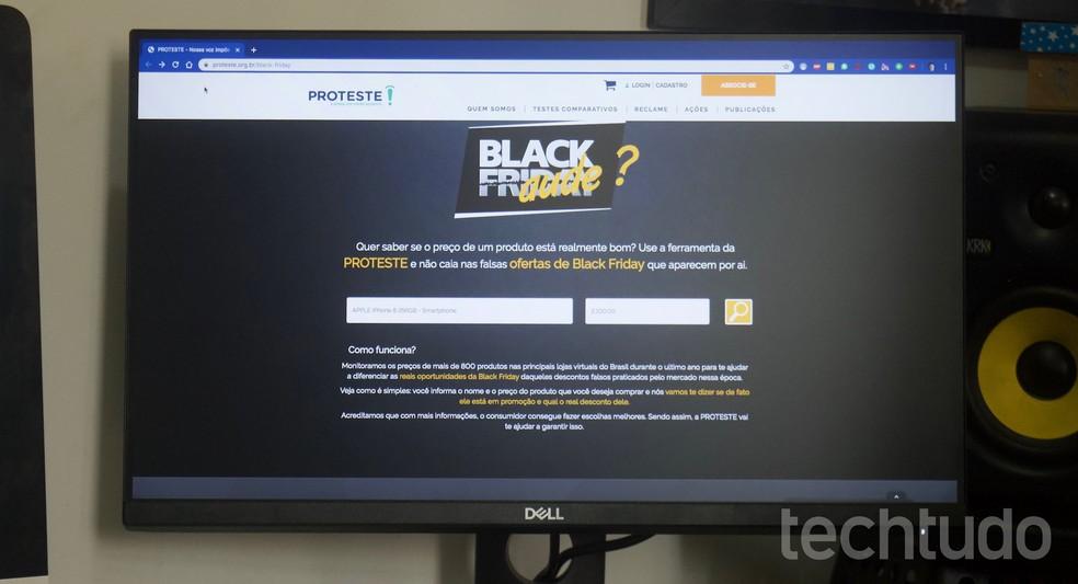 Inscrições em lista de e-mails de lojas pode ajudar usuários a receber ofertas da Black Friday — Foto: Marvin Costa/TechTudo