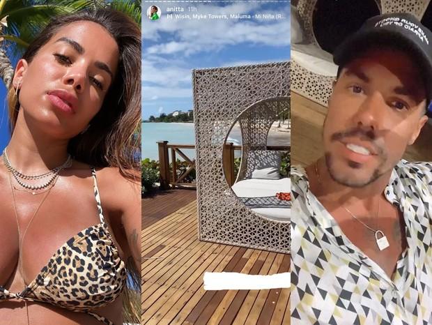 Anitta e Lipe Ribeiro (Foto: Reprodução/Instagram)