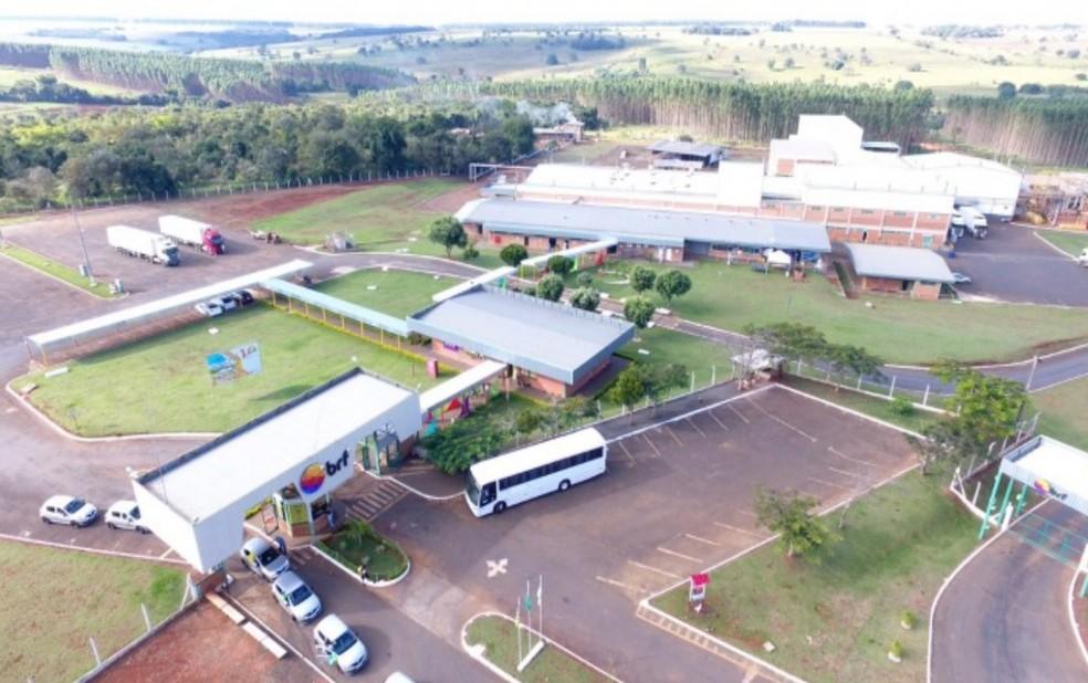 BRF Buriti Alegre, Goiás — Foto: Divulgação/BRF
