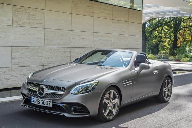 Teste mercedes benz slc 300 auto esporte an lises for Mercedes benz slk 300