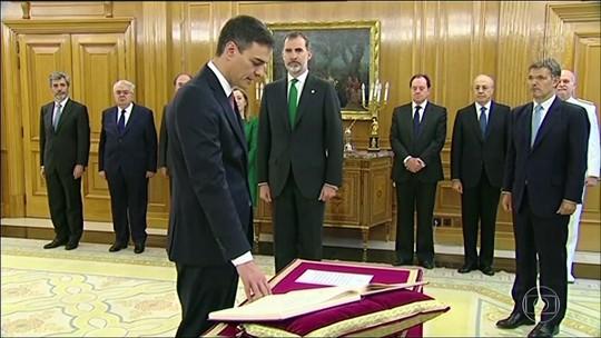 Novo primeiro-ministro toma posse na Espanha