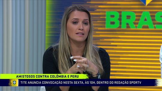 Ana Thais cobra falta de definições da CBF sobre a Seleção Feminina de Futebol