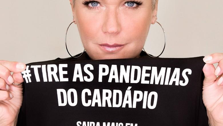 Xuxa, madrinha de campanha de doação de alimentos veganos (Foto: Divulgação)