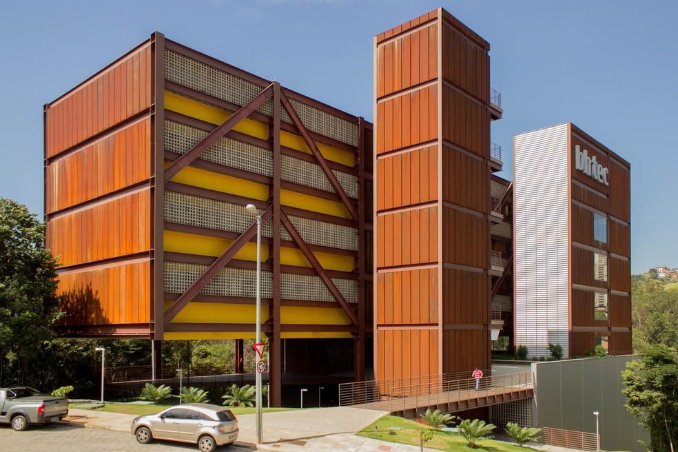 Parque tecnológico de Belo Horizonte, o BH-TEC reúne 27 empresas  — Foto: Divulgação