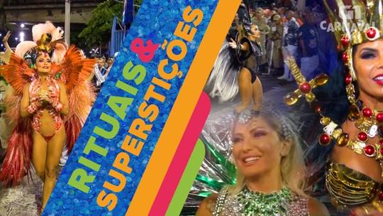 Rituais e superstições: musas e rainhas revelam o que fazem antes de pisar na Sapucaí; VÍDEO