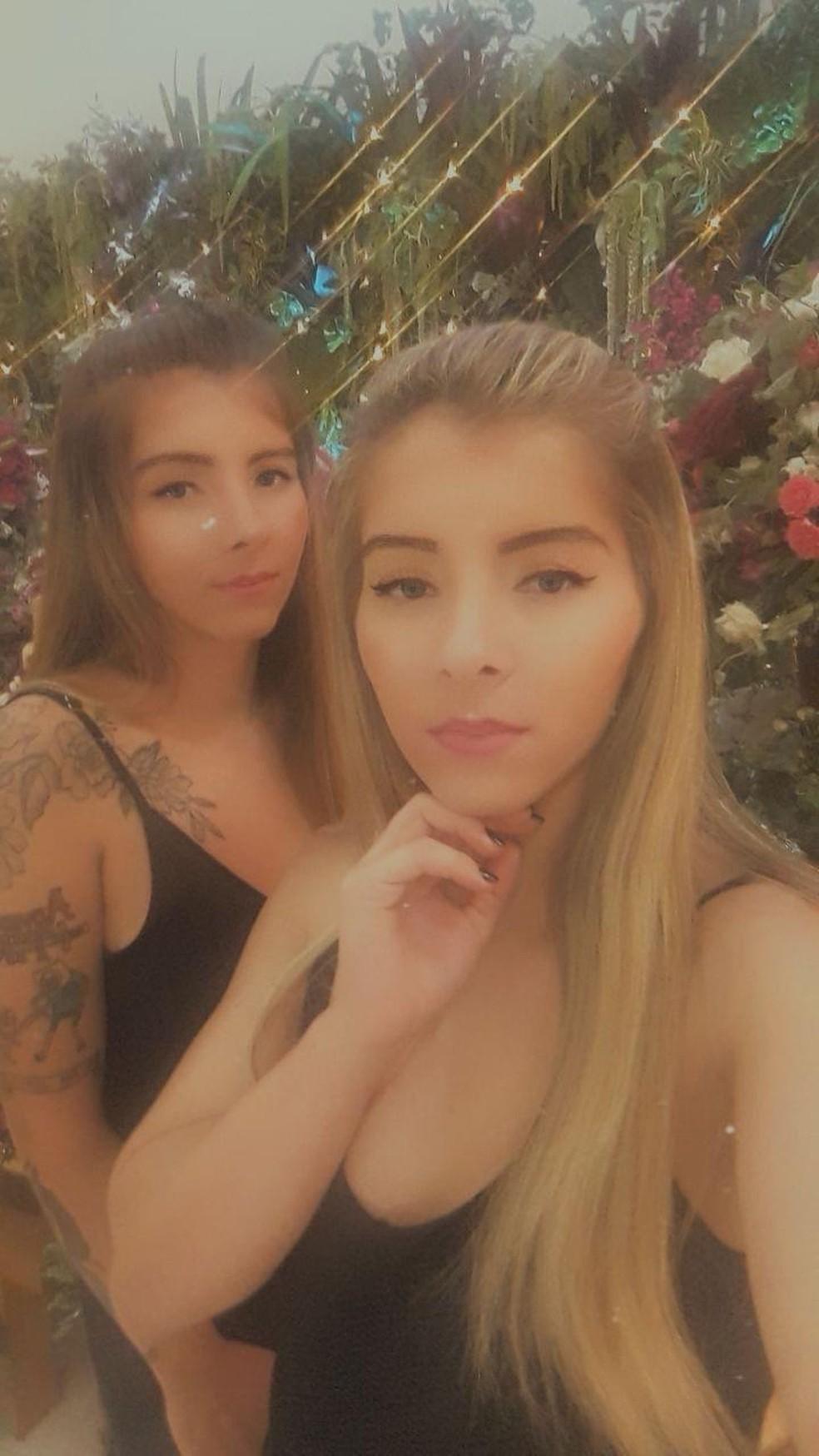 Itamara e Gabriela Meirelles são irmãs gêmeas — Foto: Arquivo Pessoal/Itamara Meirelles