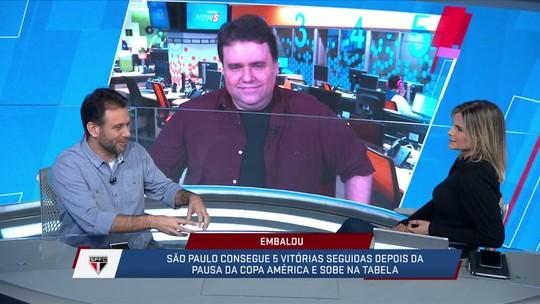 Loffredo lembrou de trabalhos extraordinários do Cuca e como isso pode se aplicar no São Paulo