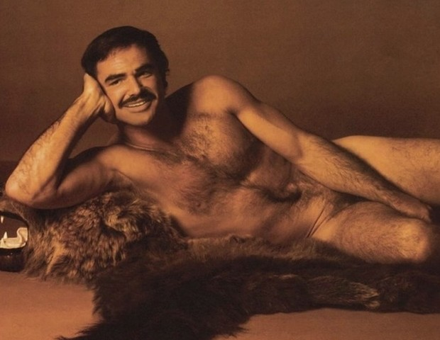 Burt Reynolds na revista Cosmopolitan (Foto: reprodução)