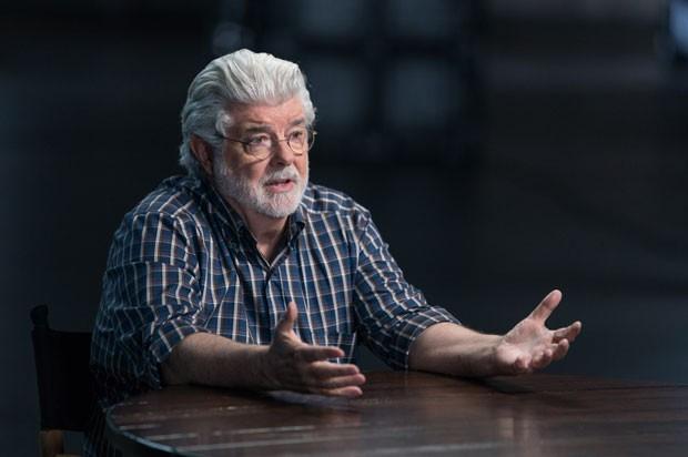 George Lucas (Foto: Divulgação/AMC)