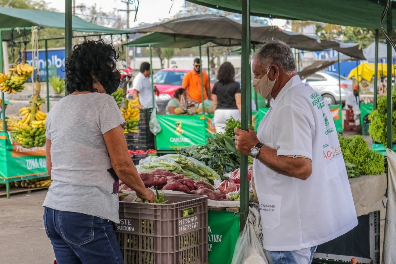 2º 'Microcrédito na Rua' é realizado na quinta-feira (21) na Feira de Agricultura Familiar, em Caruaru