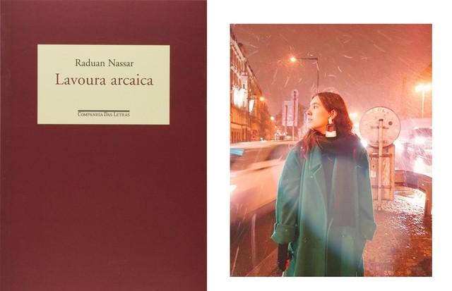 """Júlia Filgueiras, Designer Lavoura Arcaica, do Raduan Nassar. """"Forte e delicado, uma palavra linda atrás da outra."""" (Foto: Divulgação/Arquivo pessoal)"""