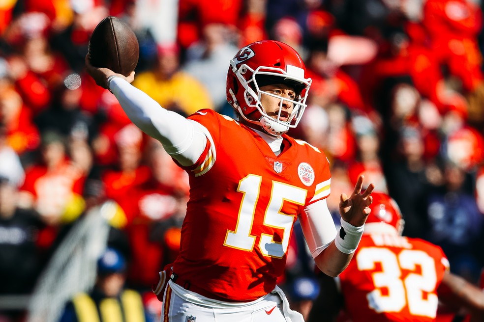 Patrick Mahomes NFL — Foto: Jamie Squire / Getty Images