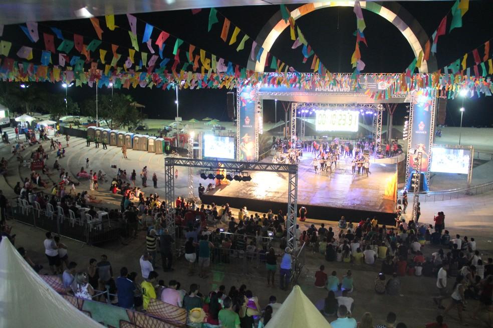 Ao todo, 76 grupos folclóricos devem se apresentar no 62º Festival Folclórico do Amazonas (Foto: Rickardo Marques/G1 AM)