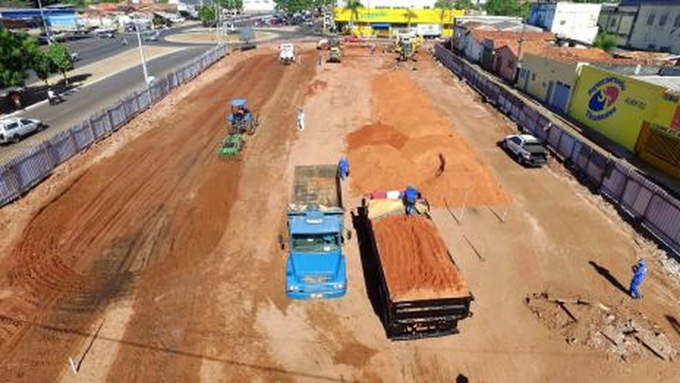 Empresa desiste de obras no Complexo da Nova Feirinha — Foto: Divulgação/Prefeitura de Araguaína