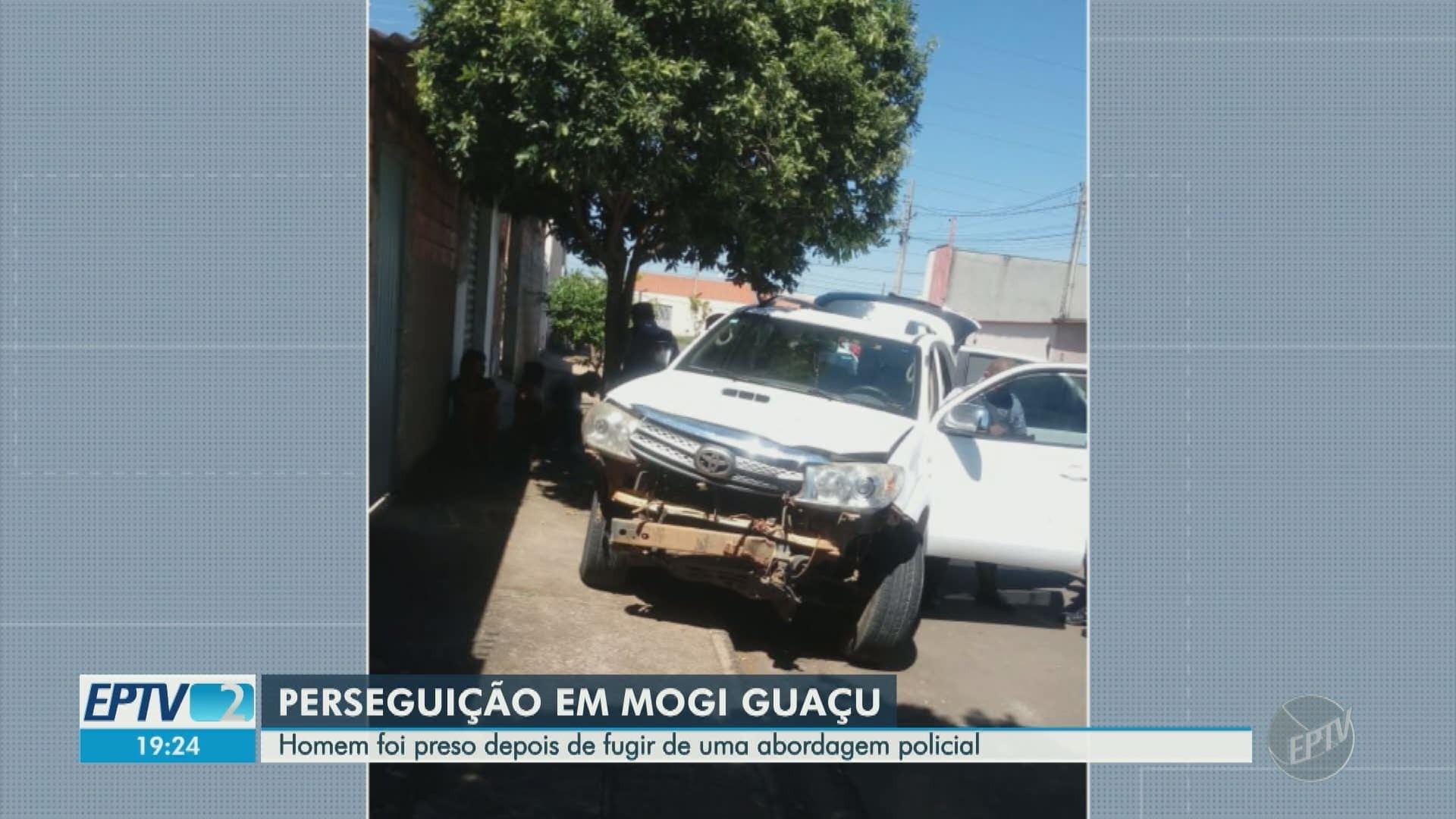 Motorista embriagado é preso após bater em árvore durante patrulhamento, em Mogi Guaçu - Noticias