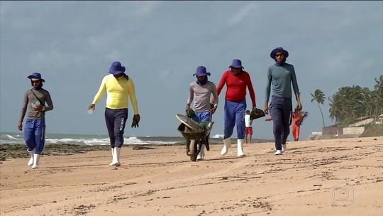 Voluntários fazem mutirão para limpar praias de Alagoas