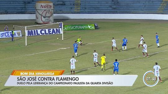 Oliveira lamenta falta de gols contra o Flamengo-SP, mas valoriza postura do São José