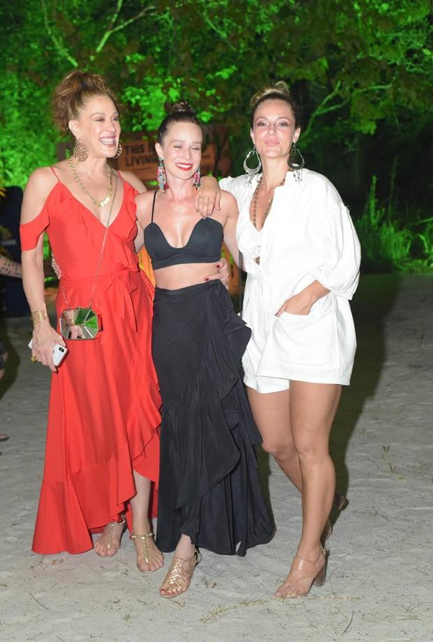 Cláudia Raia, Mariana Ximenes e Paolla Oliveira (Foto: Divulgação/Alexandre Virgílio)