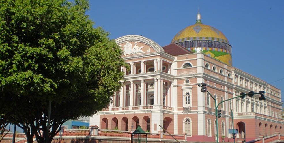 Teatro Amazonas, em Manaus, é um dos imóveis tombados e monitorados pelo Iphan — Foto: Divulgação/IPHAN