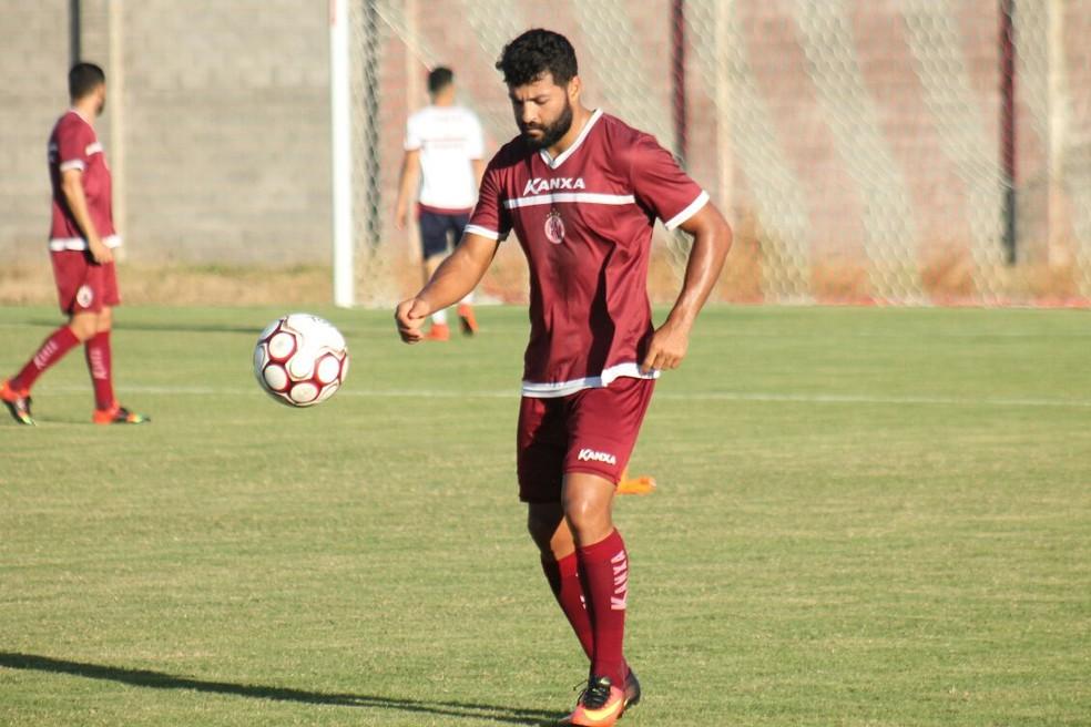 Uederson pode ser a novidade do América-RN no jogo desta segunda-feira (Foto: Canindé Pereira/Divulgação)