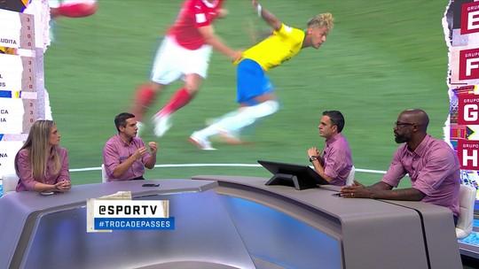 Jornalistas defendem que Neymar deveria ter sido substituído contra a Suíça