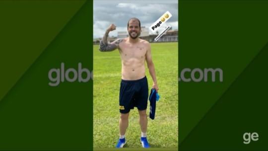 De férias, Tiago Luís treina em busca de melhorar desempenho no Paysandu em 2020