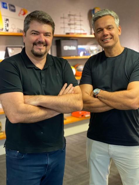 João Pedro Paes Leme e Otaviano Costa (Foto: Divulgação)