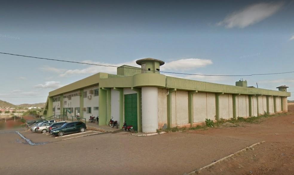 Neuksson Daniel Landim foi encaminhado para o Presídio de Salgueiro — Foto: Reprodução / Google Street View