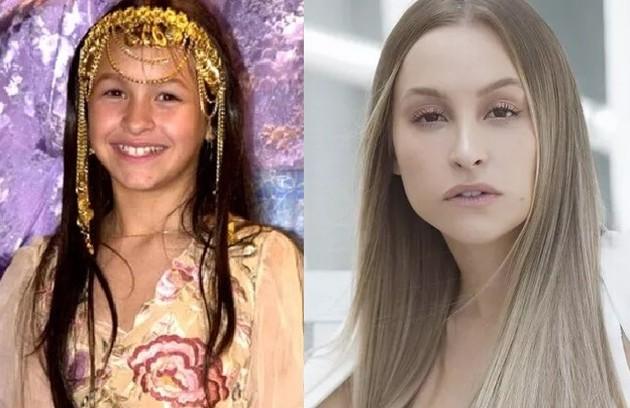 Carla Diaz interpretou a pequena Khadija, que ficou conhecida pelo bordão 'inshalá'. Este ano, ela foi uma das participantes do 'BBB' 21 (Foto: Reprodução)
