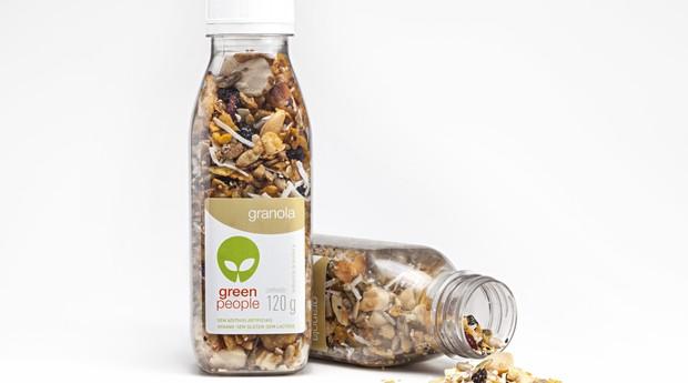 Granola vendida como lanche saudável da Greenpeople (Foto: Divulgação)