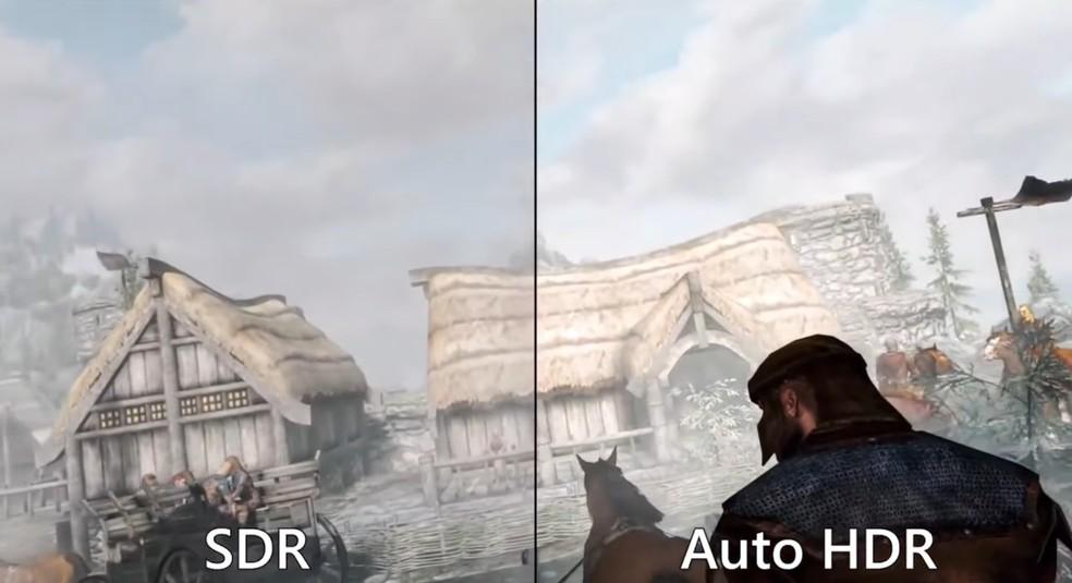 Windows 11: HDR automático promete melhorias na imagem de jogos — Foto: Reprodução/Microsoft
