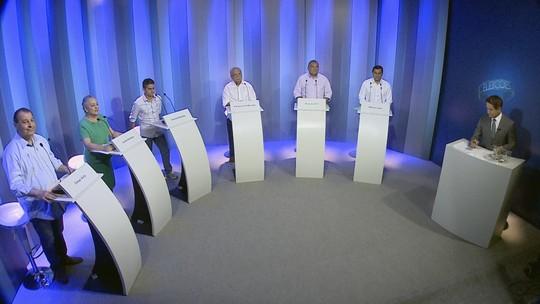 Candidatos ao governo do AM participam de debate na Rede Amazônica