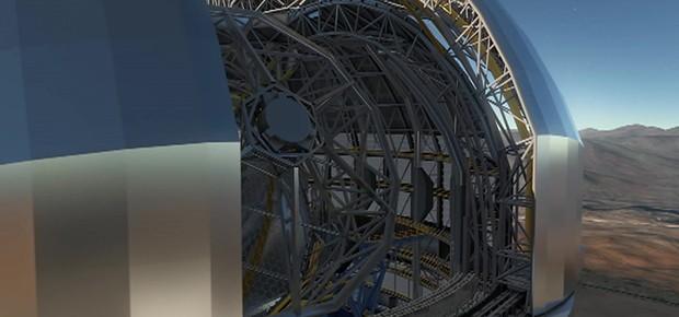 Extremely Large Telescope (ELT) (Foto: ESO via BBC News)