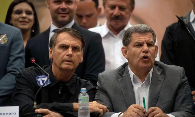 Bebianno e Bolsonaro