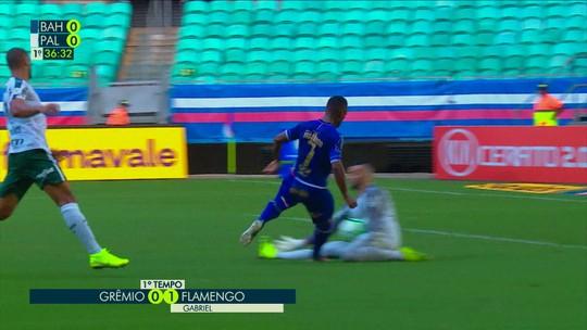Atuações do Bahia: em dia de Élber, Arthur Caíke e Moisés mandam bem contra o Palmeiras