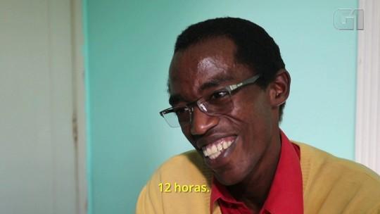 Refugiado do Burundi que vive em SP arrecada R$ 14 mil em vaquinha na internet para fazer transplante de rim