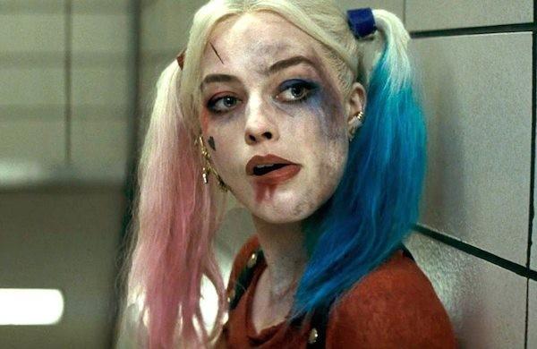 A atriz Margot Robbie no papel da vilã Arlequina (Foto: Reprodução)